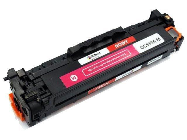 CC533A (304A) Toner czerwony do drukarek HP Color Laserjet CP2025 CM2320 / 2800str. Nowy zamiennik