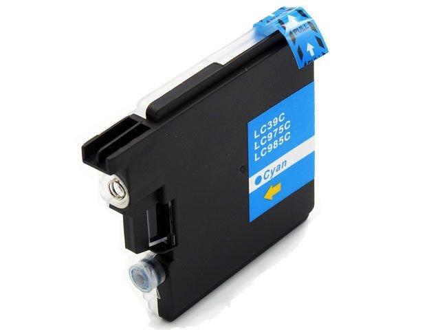 TUSZ LC985 / LC-985 do drukarki Brother DCP-J125 / DCP-J315W  - Cyan / Niebieski