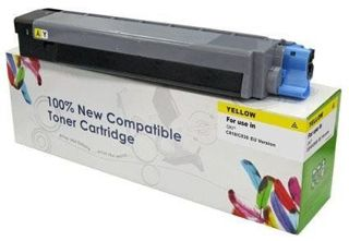 Toner do OKI C810 C830 / 44059105 / Yellow / 8000 stron / zamiennik