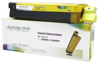 Toner do OKI C8600 C8800 / 43487709 / Yellow / 6000 stron / zamiennik