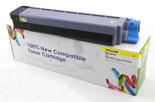 Toner do OKI C801 C821 / 44643001 / Yellow / 7300 stron / zamiennik