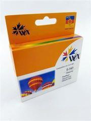 Tusz Magenta do Epson Stylus Photo R800 R1800 / T0543 C13T054340 / Czerwony / 18.2 ml / zamiennik