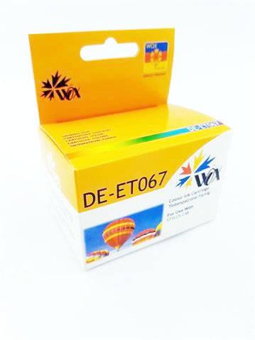 Tusz Trójkolorowy do EPSON Stylus Color C48 / T067 C13T06704010 / Tricolor / 28 ml / zamiennik