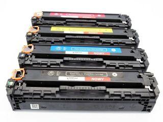 Zestaw tonerów do HP Color M251 M276 / CF210A CF211A CF212A CF213A CMYK zamiennik / Kolor - 1400 stron / Czarny - 2200 stron / DD-Print
